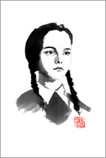 Premium-Poster  Wednesday Addams - Péchane