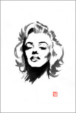 Wandsticker  Marylin Monroe - Péchane