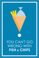 Premium-Poster  You can't go wrong - Typobox