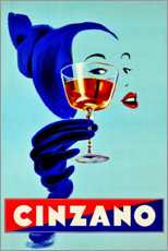 Leinwandbild  Cinzano - Prost - Advertising Collection