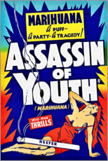 Premium-Poster Assassin of Youth