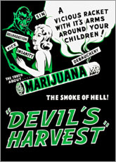 Gallery Print  Devils Harvest - Advertising Collection