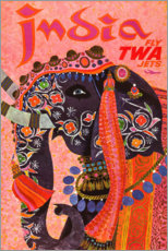 Acrylglasbild  India - Travel Collection