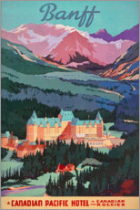 Acrylglasbild  Banff (englisch) - Travel Collection