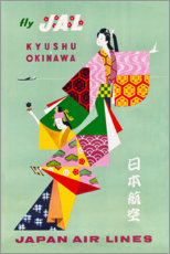 Leinwandbild  Japan Air Lines - Travel Collection