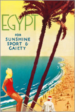 Premium-Poster  Ägypten (englisch) - Travel Collection