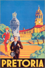 Premium-Poster  Pretoria - Travel Collection