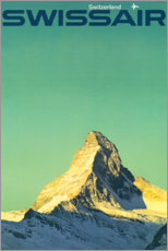 Premium-Poster Swissair – Switzerland