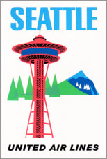 Alubild  Seattle (englisch) - Travel Collection
