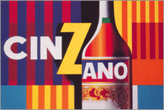 Leinwandbild  Cinzano Vermouth - Advertising Collection