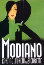 Gallery Print  Modiano (italienisch) - Advertising Collection