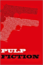 Premium-Poster Pulp Fiction (englisch)