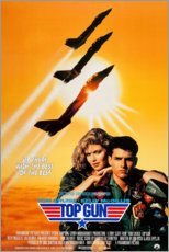 Premium-Poster  Top Gun (englisch) - Entertainment Collection