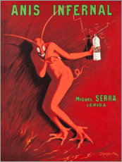 Acrylglasbild  Anis Infernal - Leonetto Cappiello