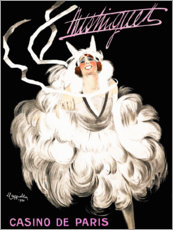 Wandsticker  Mistinguett Casino in Paris (französisch) - Leonetto Cappiello