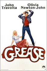 Hartschaumbild  Grease - Entertainment Collection