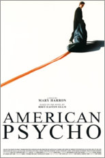 Wandsticker  American Psycho - Entertainment Collection