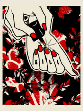 Premium-Poster  Killer Nails - dolceQ