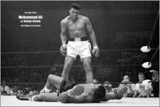 Premium-Poster  Boxlegende Mohammed Ali - Celebrity Collection