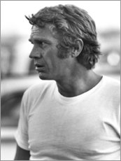 Holzbild  Steve McQueen - Celebrity Collection