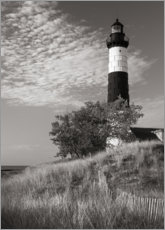 Premium-Poster Big Sable Point Leuchtturm II