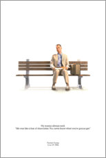 Premium-Poster  Forrest Gump (englisch) - Entertainment Collection