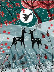 Gallery Print  Waldfolklore I - Jo Parry