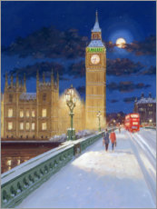 Hartschaumbild  Winter in London - Alec Macdonald