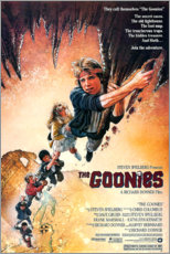 Premium-Poster  Die Goonies (englisch) - Entertainment Collection