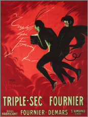 Alubild  Triple Sec Fournier - Leonetto Cappiello
