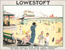 Premium-Poster Lowestoft