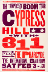 Premium-Poster  Cypress Hill, With 311, Konzert 1996 - Entertainment Collection