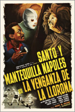 Premium-Poster  Santo y Mantequilla Napoles En La Venganza De La Llorona - Entertainment Collection
