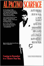 Wandsticker  Scarface (englisch) - Entertainment Collection