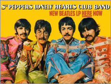 Leinwandbild  Sgt. Pepper's Lonely Hearts Club Band - Entertainment Collection