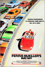 Leinwandbild  Ferris macht blau (englisch) - Entertainment Collection