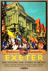 Premium-Poster  Exeter (englisch) - Travel Collection