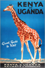 Leinwandbild  Kenya und Uganda (englisch) - Travel Collection