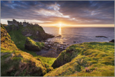 Premium-Poster  Sonnenuntergang in Irland - The Wandering Soul