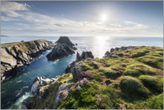 Gallery Print  Blick aufs Meer in Irland - The Wandering Soul