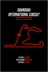 Wandsticker  F1 Grand Prix von China (Shanghai International Circuit) - Michael Tarassow