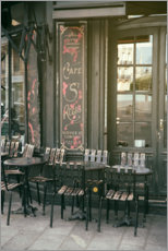 Premium-Poster Nostalgisches Café in Paris