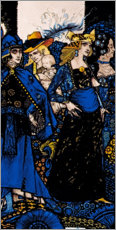 Alubild  Königinnen von Sheba, Meath und Connaught - Harry Clarke