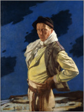 Premium-Poster  Der Mann aus Aran - Sir William Orpen