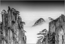 Leinwandbild  Huangshan in China - Chenzhe