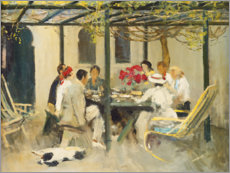 Gallery Print  Abendessen in Palm Springs - Sir John Lavery