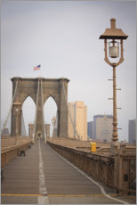 Alubild  Brooklyn Bridge, New York City - Fraser Hall