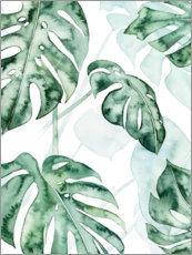 Premium-Poster Monstera II