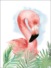 Wandsticker  Flamingo Komposition I - Grace Popp