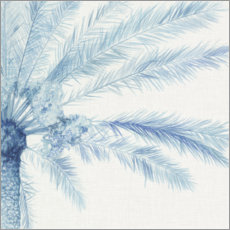 Premium-Poster  Chambray Palme II - Megan Meagher
